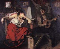 "José Malhoa: ""O Fado"". Ano: 1910. Local: Museu do Fado (Lisboa)."