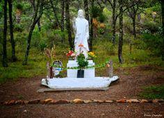 Christ of the Mountain located on Puerto de Carbonera, Arteaga, Coahuila, México