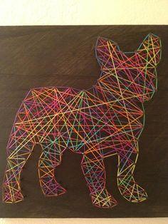 String and Nail French Bulldog Mini on Etsy, $35.00