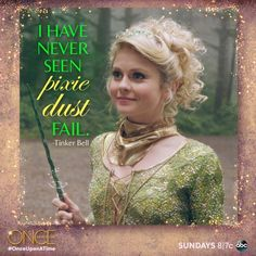 Tinker Bell #OnceUponATime #OUAT #ONCERS