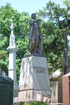 Stephen F. Austin's Grave, Texas State Cemetery, Austin, Texas (November 3, 1793-December 27, 1836)