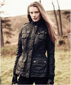 Womens Barbour Speedway Waxed Jacket | Barbour's Dedicated Online Shop for Barbour Clothing