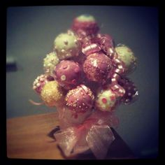 Mathilda's birthday cakepops #cake