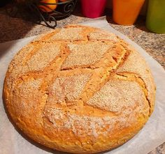 Greek Recipes, Cooking Recipes, Breads, Food, Bread Rolls, Chef Recipes, Essen, Greek Food Recipes, Bread