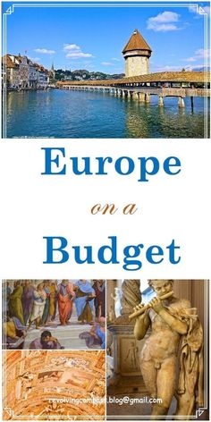 Europe on a budget | How to travel across Europe on a budget | Tips to plan your trip so that you save during your Europe trip | Tips to save during your Europe trip
