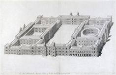 Ingo Jones plan for a new palace at Whitehall 1638 - Palace of Whitehall - Wikipedia, the free encyclopedia