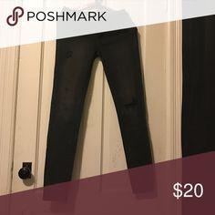 Black American Eagle Skinny jeans Black American Eagle Skinny jeans American Eagle Outfitters Pants Skinny