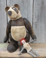 Do it yourself - Sewing Patterns Huge Teddy Bear Patterns for Children.Teddy Bear Patterns, Large Floppy Teddy Bear Patterns, Bunny, Stuffed Animal Patterns, by JudiLynnDesigns.com