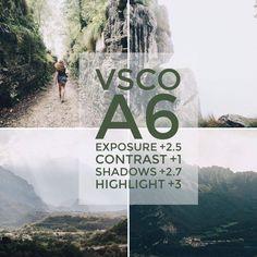 Tutorial: Como Editar Fotos Com o VSCO Cam #instagram #photography