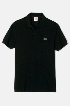 #Lacoste LIVE Short Sleeve Solid Pique #Polo - Always a Classic