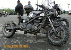 kawasaki ninja rat bike/streetfighter