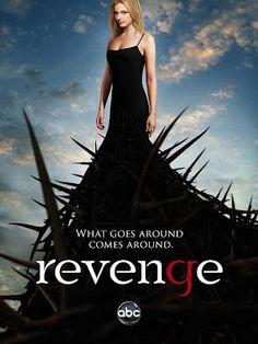 Uma das coisas que mais gosto de assistir são filmes e séries onde na trama alguém injustiçado volta para se vingar.  Revenge é um série desse gênero...nem preciso dizer que tô viciada, ná?