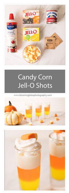 Candy Corn Jell-O Sh