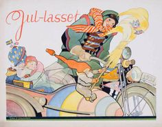 Jul-lasset. Sv.D.   1931   Litografiska Museet   CC BY-SA Winter Wonderland, Comic Books, Comics, Anime, Cartoon Movies, Cartoons, Cartoons, Anime Music, Comic