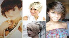 Short Hair Cut with Long Bangs - Short Haircut Tutorial - How to Haircut