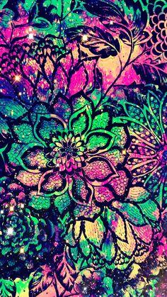Cool wallpaper - galaxy neon cool wallpapers for girls Hipster Wallpaper, Purple Wallpaper Iphone, Trendy Wallpaper, I Wallpaper, Galaxy Wallpaper, Wallpaper Backgrounds, Glitter Wallpaper, Cellphone Wallpaper, Cool Wallpapers For Girls