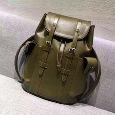 2d0e73c70f7c Louis Vuitton Christopher PM backpack M58843 Kaki Marron Everyday Bag