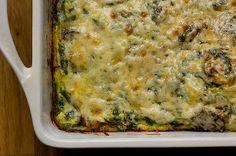 Power House Casserole with Quinoa Crust | AllFreeCasseroleRecipes.com