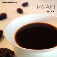 Teriyaki sauce, Paleo style!