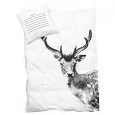 """Oh sheesh. I NEED this deer duvet cover in a very bad way. I don't use """"need"""" lightly here."""