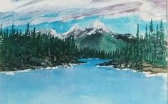 Portfolio Gallery for Al Budarin Impressionist Paintings, Rocky Mountains, Waterfalls, The Great Outdoors, Places To Visit, Display, Gallery, Garden, Artist