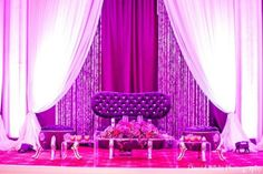 Purple and Pink Reception