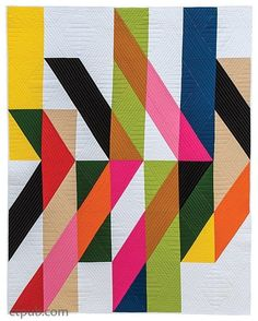 """1,931 Likes, 17 Comments - The Modern Quilt Guild (@themqg) on Instagram: """"Get a sneak peek the upcoming book, """"Modern Quilts: Designs of the New Century!"""" C&T published an…"""""""