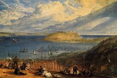 Falmouth Harbour, Cornwall - William Turner