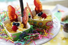 Surprise them with a well rounded easter breakfast!