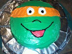 Joey's 4th birthday cake -Teenage mutant ninja turtles