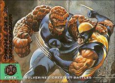 Wolverine vs Thing ('94)