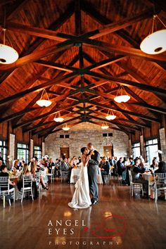 Indoor reception at Promontory Point Park- Chicago IL