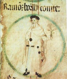 """Wilfred II (or Borrell I) (Guifré II Borrell I in Catalan), also known as """"Wifred"""" and/or """"Borrel"""", was count of Barcelona, Girona, and Ausona from 897 to Ramones, Barcelona, Time And Tide, Birth And Death, Free Family Tree, Viking Warrior, My Ancestors, Historical Images, Chivalry"""