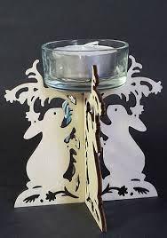 Image result for slot together tea light holder