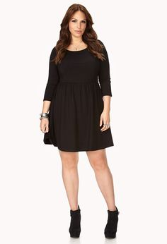 Favorite Skater Dress | FOREVER21 PLUS - 2000111771