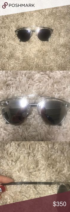Dior So Real Sunglasses The sunglasses are 100% authentic, and I purchased them in New York City. They are missing the little nose piece but that can be replaced. Open to offers. Christian Dior Accessories Sunglasses