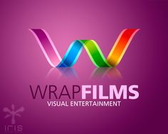 This colourful logo uses line to direct the viewers eye to the top of the hierachy, being the middle of the W, these flowing colourful lines also add contrast to the logo adding to the hierachal effect. By using different shades of colours and curved lines they have made the w look as if its wrapping around, this is very effective as the company is called wrap films