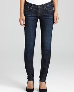 """AG Adriano Goldschmied """"The Stilt"""" Cigarette Jeans in Free Wash   Bloomingdale's"""