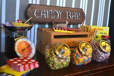 Candy Bar Close Up