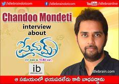 Chandoo Mondeti interview (Telugu) about Premam http://idlebrain.com/news/today/interview-chandoomondeti-premam.html