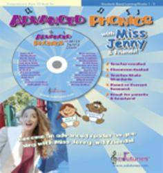 "Advanced Phonics Digital Download / ""Miss Jenny's Edutunes"""