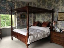 Four Poster Mahogany (Bruton) Super King Size RRP £5000