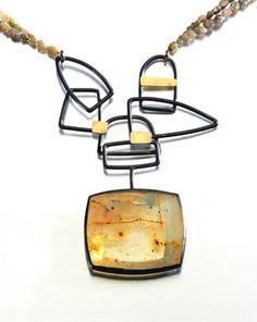 www.senayakin.com SONBAHAR Kolye, kuvars, ham elmas, 750 Au