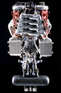 ◆ Visit MACHINE Shop Café ◆ (Ferrari F40 Engine Ariel)