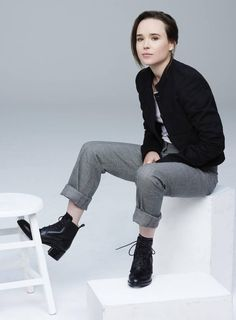 Actor, producer, advocate, icon: Ellen Page delivers two much-buzzed films to TIFF - The Globe and Mail