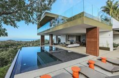 Villa Aerie in Guanacaste, Costa Rica  Starting at $1,225/night and located in a sustainable neighborhood #LuxeTravel