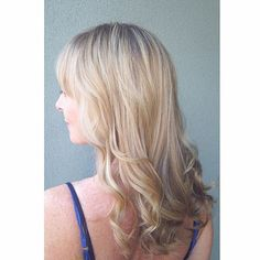 Warm blonde hair :: RedBloom Salon