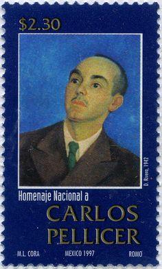 HOMENAJE NACIONAL A CARLOS PELLICER, MÉXICO 1997