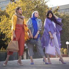 Iranian Women Fashion, Ethnic Fashion, Hijab Fashion, Womens Fashion, Happy Wallpaper, Persian Girls, Mode Abaya, Disney Princess Drawings, Dress Sewing Patterns