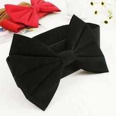Big Fashion Belts | Free-Shipping-Fashion-Big-Bowknot-Belt.jpg